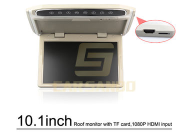 HD 10.1 Inch Roof Mount Tft Lcd Monitor / Dvd Player For Car Roof Mounted