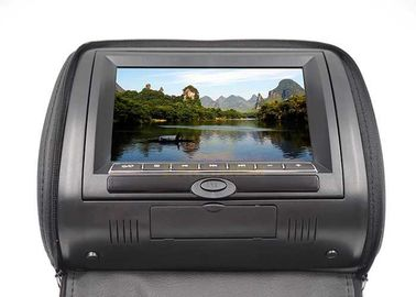 China Portable Car Headrest Screen Dvd Player , 9 Inch Lcd Car Monitors With Zipper Cover factory