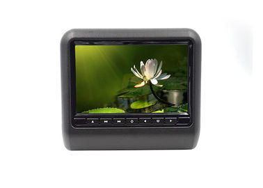 China LCD Screen 9 Inch Car Headrest Dvd Player Built - In USB Port , SD Slot factory