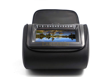 China Built - In Two Speakers Car Headrest Dvd Player 7 Inch With USB , 800 X 480 Pixels factory