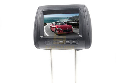 "China 7"" Universal Headrest TFT LCD Monitor NTSC/PAL System , DC 12V Power Supply factory"