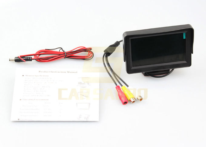 Auto / Car Tft LCD Monitor 4.3 Inch Pixel 480 * 272 Car Video Lcd Monitor